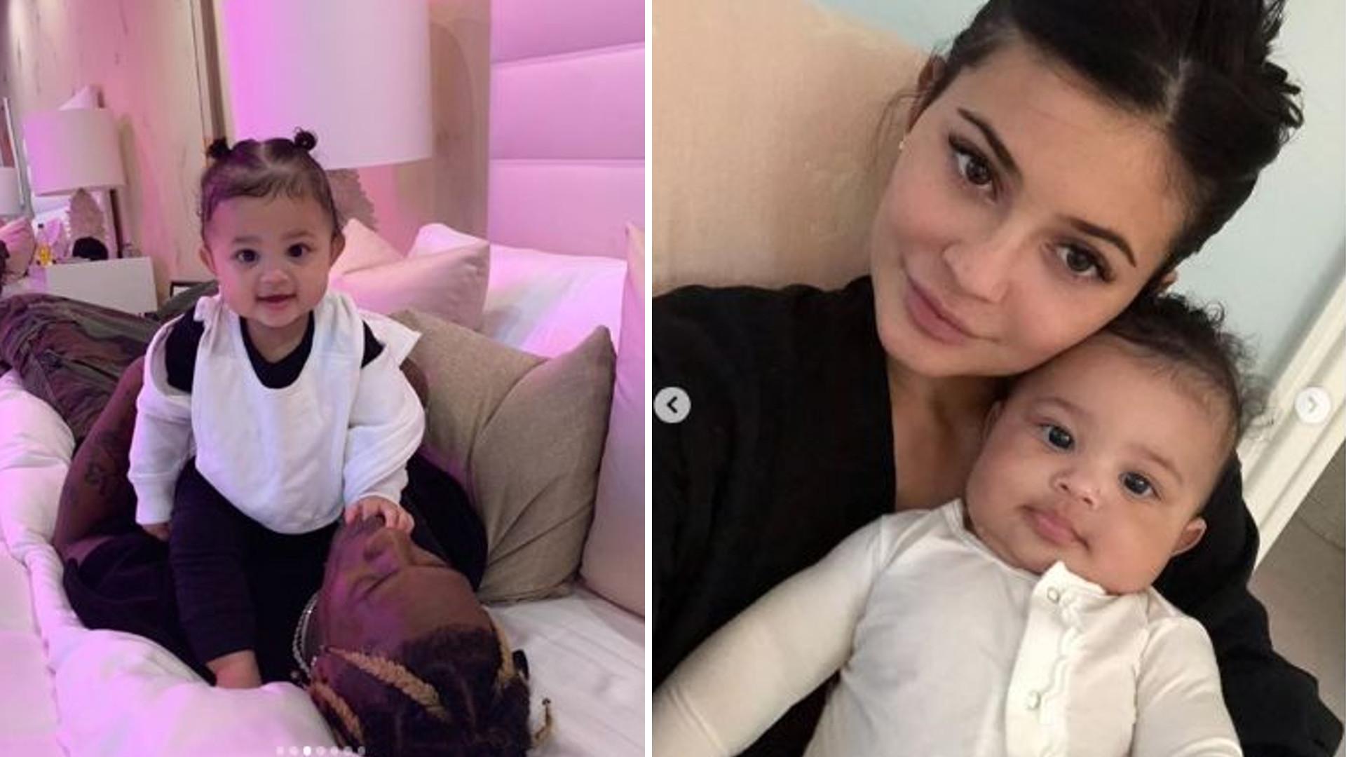 Córeczka Kylie Jenner, Stormi, kończy roczek – wzruszające życzenia Scotta