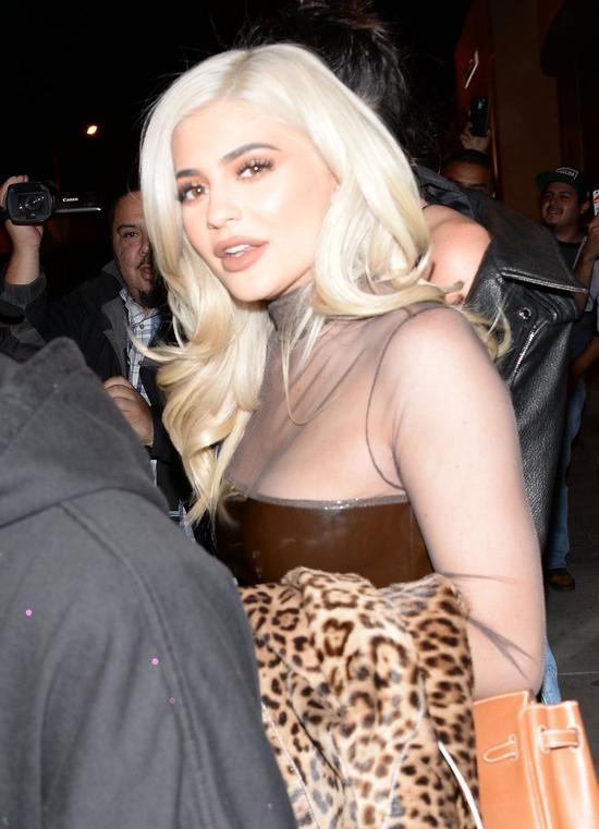 Ostatnie sefie Kylie Jenner poraża (Instagram)