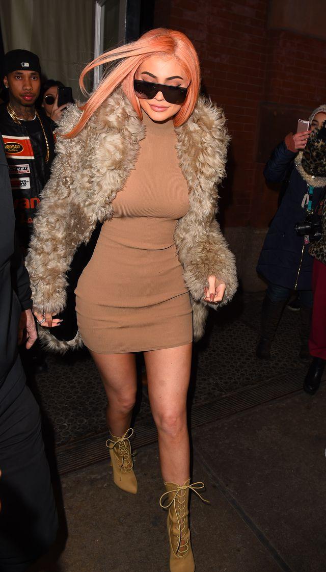 Kylie Jenner w ciąży jest nie-do-poznania. Wyciekły zdjęcia