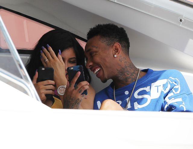 Kylie i Tyga przestali urywać swoją miłość (FOTO)
