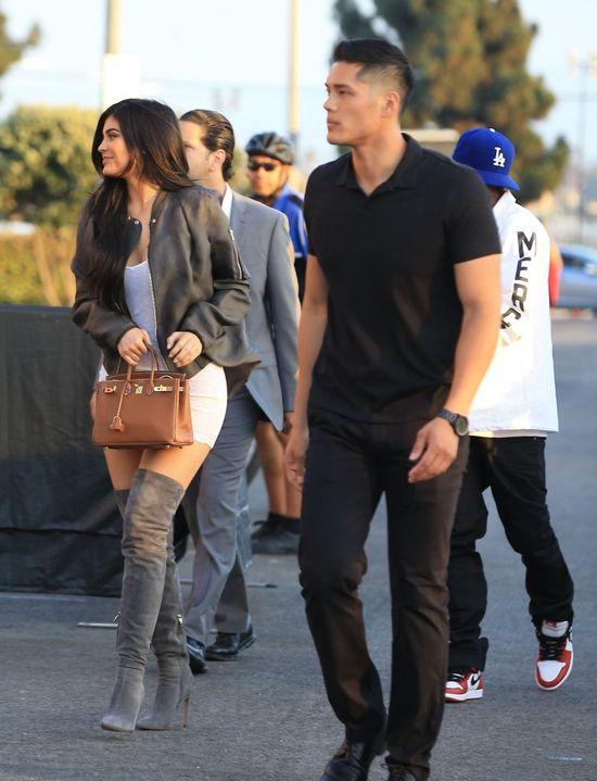 Kylie Jenner wyszła z Tygą. Fanki zarzucają jej brak szacunku do siebie