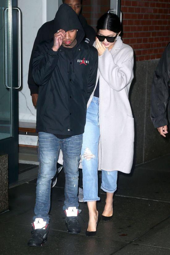 Kylie Jenner i Tyga w końcu zachowują się jak para?