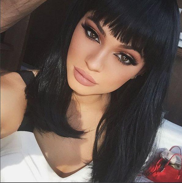 Nie chcielibyście zobaczyć Kylie Jenner bez doczepów! Insta