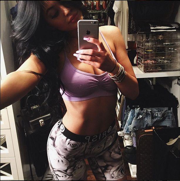 W czym tkwi sekret szczup�ej figury Kylie Jenner? (FOTO)
