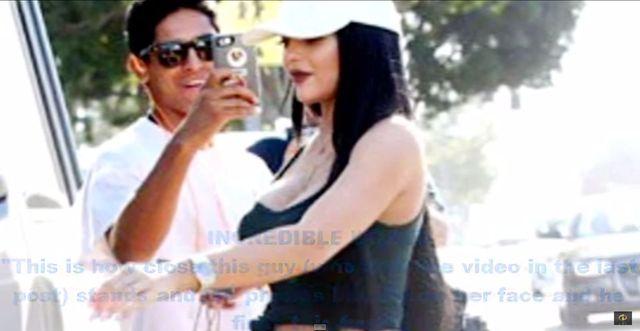 Kylie Jenner do fana: Od*ierdol się od mojej twarzy! (VIDEO)