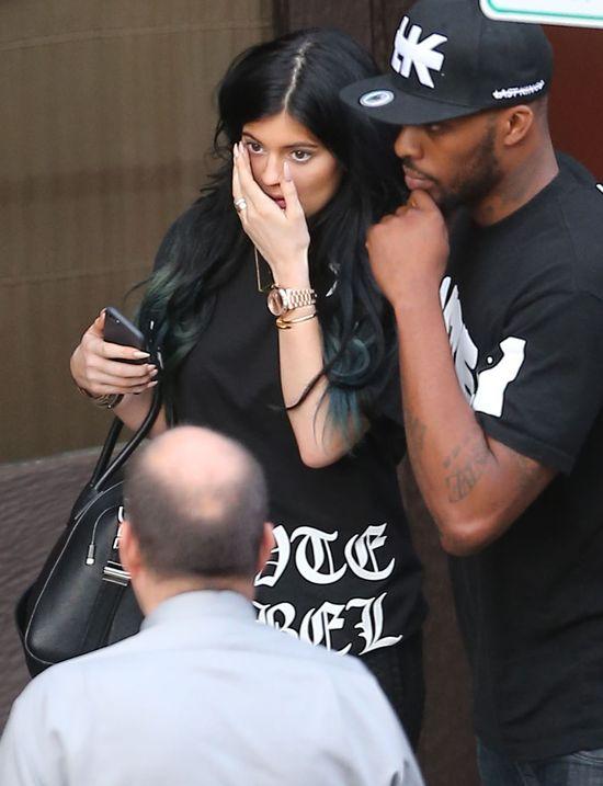 Chłopak Kylie Jenner aresztowany! (VIDEO)
