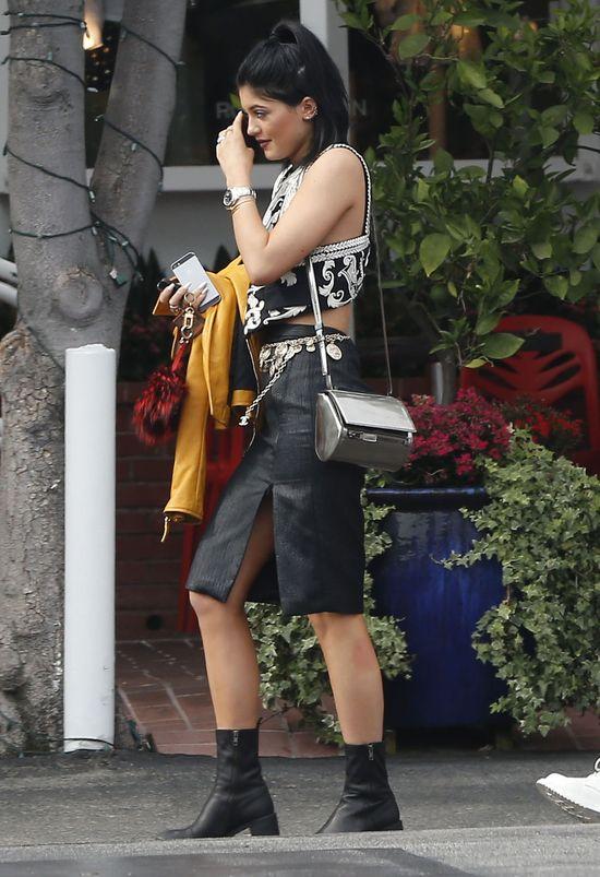 Kylie Jenner przesadziła ze stylizacją (FOTO)