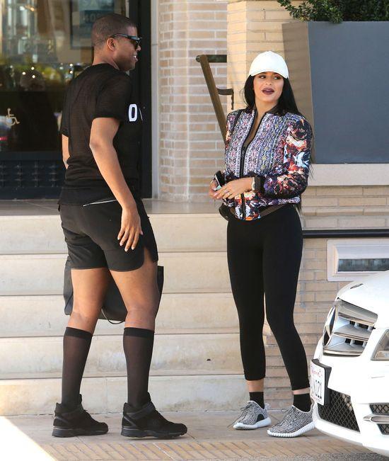 Kylie Jenner wciąż nabiera ciała (FOTO)