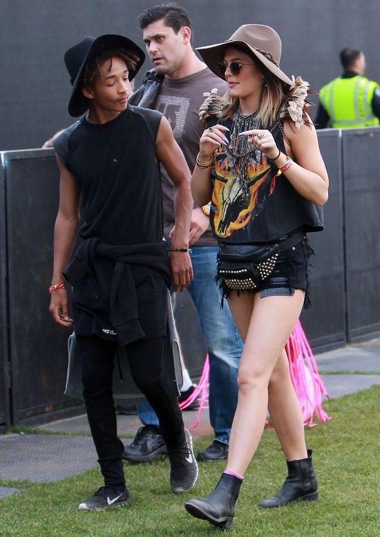 Kylie Jenner na Coachelli pojawiła się z chłopakiem?! (FOTO)