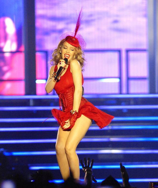 Kylie Minogue zdradza sekret swojej ponętnej pupy