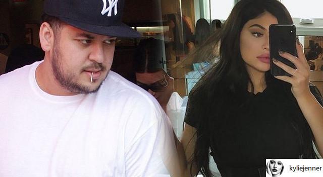 Sposób, w jaki Kylie Jenner sprawiła, że Rob Kardashian schudł