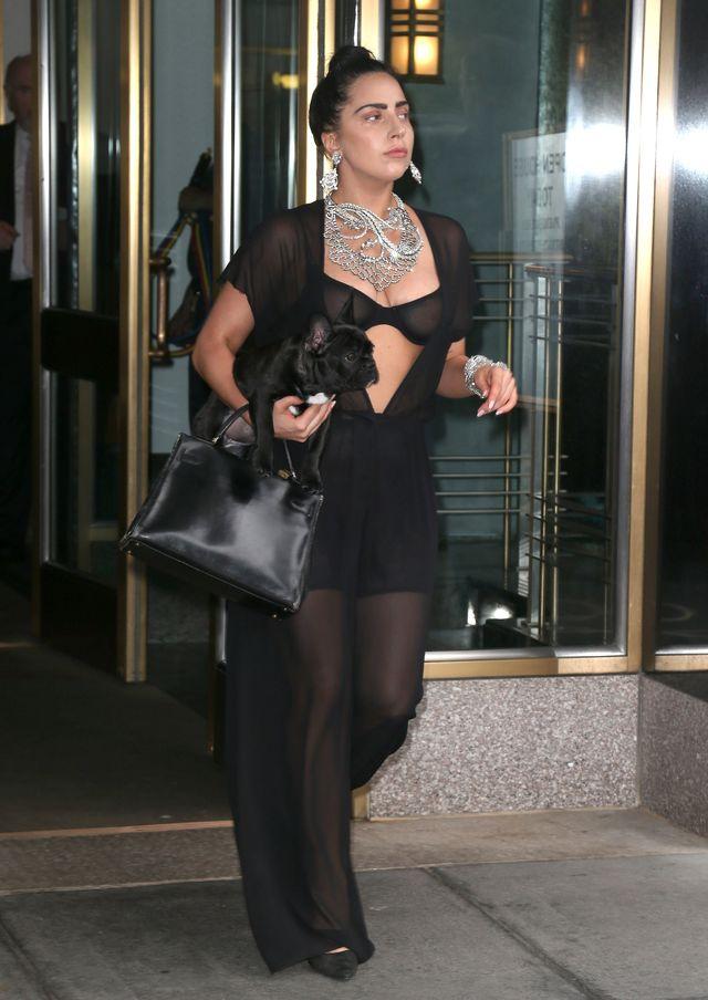 Lady Gaga dobrała PSA do stylizacji (FOTO)
