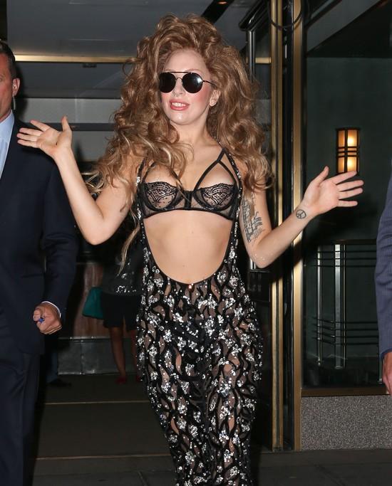 Lady Gaga wystraszyła się Miley Cyrus