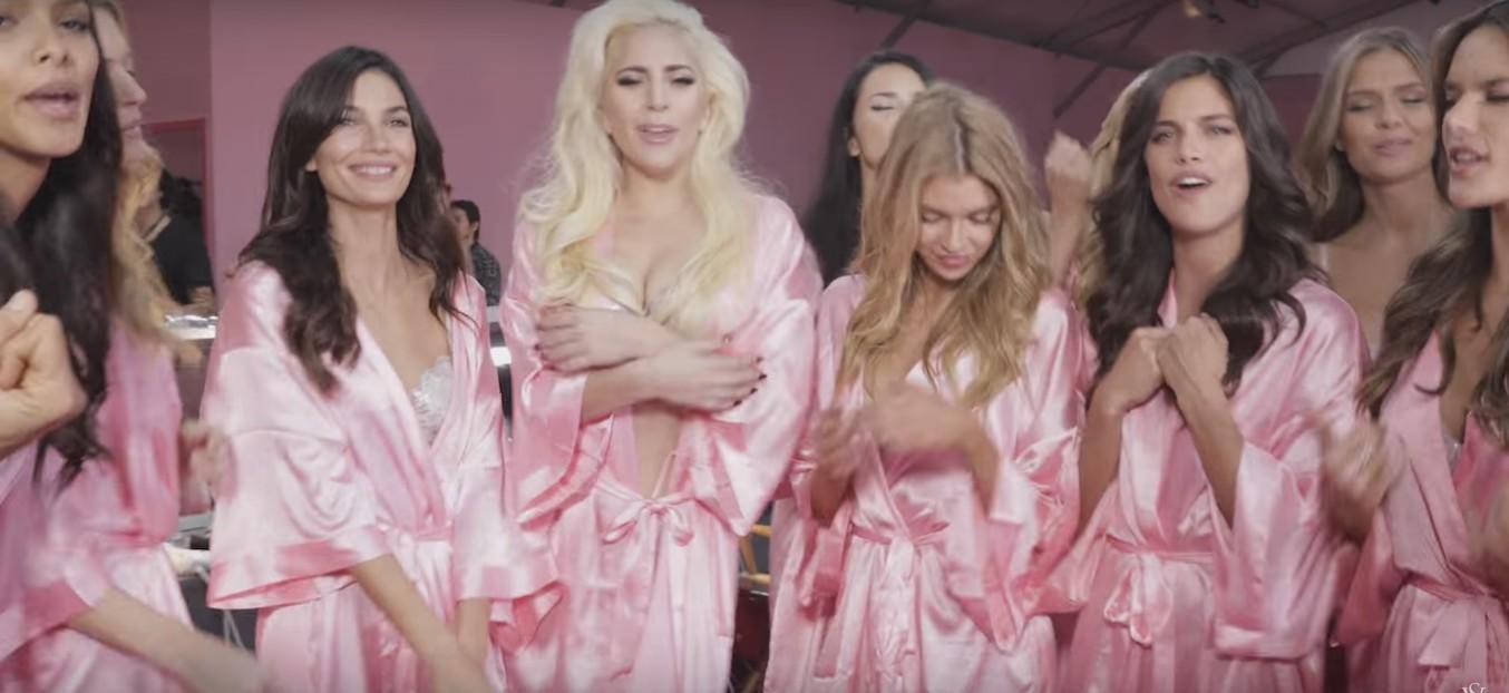 To nagranie z Lady Gagą i modelkami VS jest niesamowite! (VIDEO)