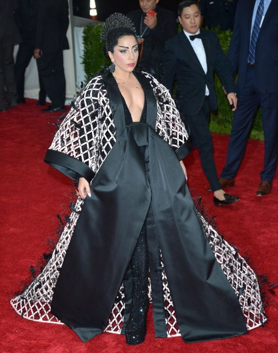 Lady Gaga była pijana na Gali MET?