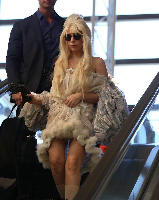 Lady Gaga też przygotowuje się Halloween? (FOTO)