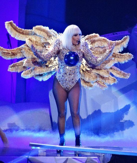 Lady Gaga nie przestrzega�a ostatnio diety? (FOTO)