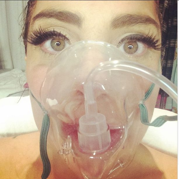 Lady Gaga wyl�dowa�a w szpitalu (FOTO)