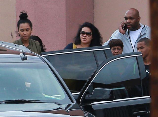 Khloe i by�a �ona Lamara  spotka�y si� w szpitalu (FOTO)
