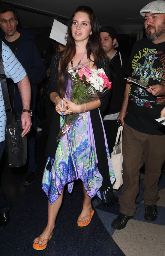 Lana Del Rey: Spa�am z wieloma m�czyznami z bran�y