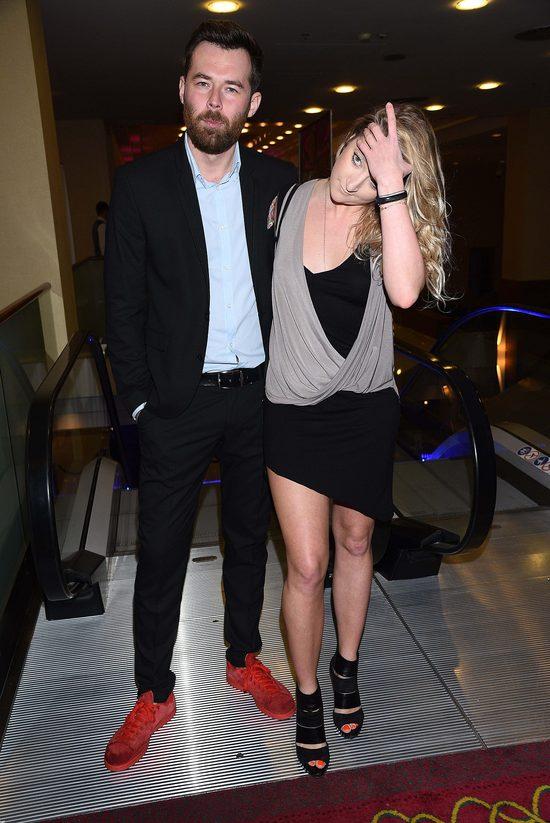Lara Gessler z ch�opakiem na imprezie (FOTO)