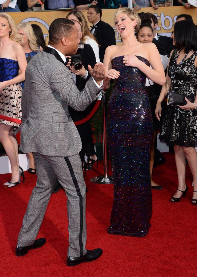PIERŚ Jennifer Lawrence gwiazdą wieczoru