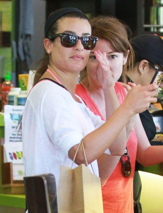 Lea Michele potwierdza ciążę!