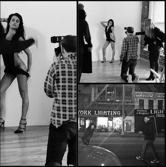 Lea Michele pokazuje, jaka jest niegrzeczna (FOTO)