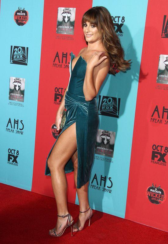 Lea Michele zignorowana na czerwonym dywanie