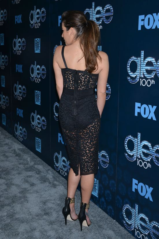 Seksowne gwiazdy serialu Glee na czerwonym dywanie (FOTO)