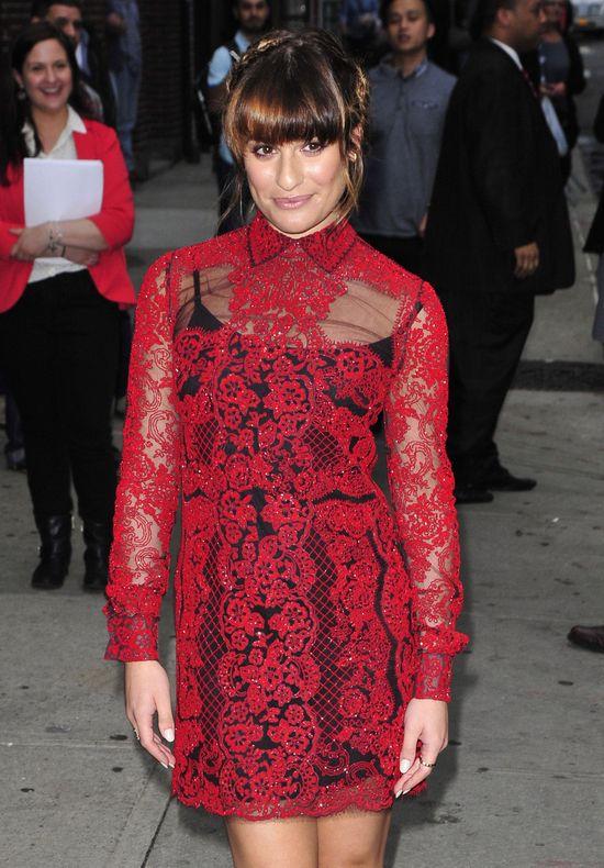 Lea Michele przefarbowała włosy (FOTO)