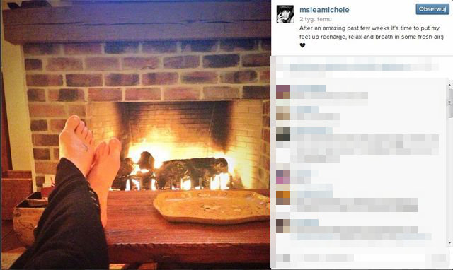 Lea Michele chwali się ciałem w bikini (FOTO)