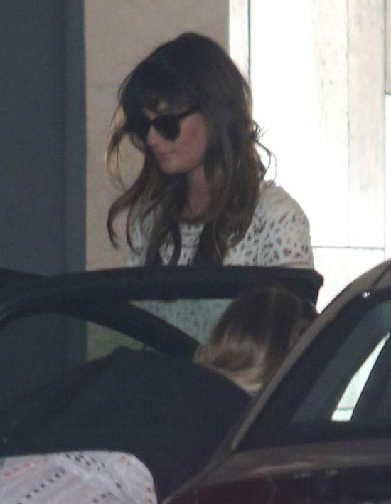 Lea Michele wychodzi z cienia po śmierci Monteitha