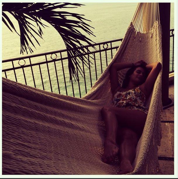 Zrobiła sobie kolejne rajskie wakacje (FOTO)