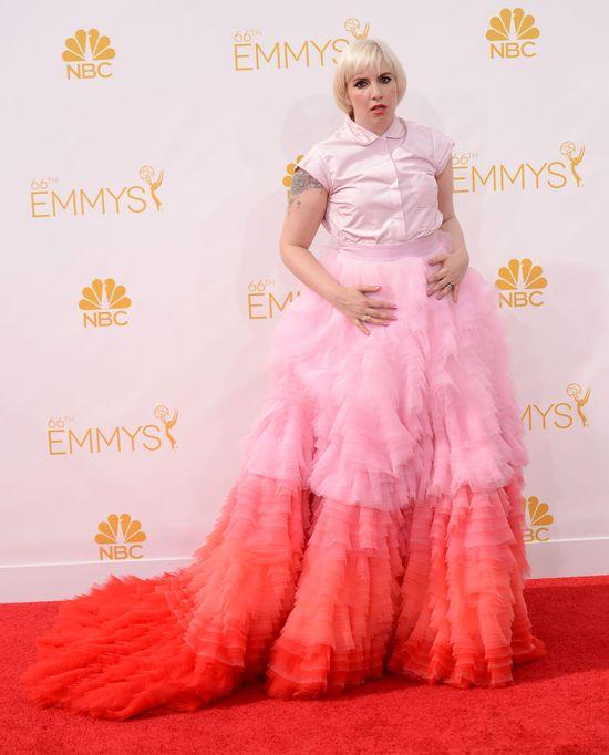 Zarzucają Lanie Dunham, że nie umyła się po rozdaniu Emmy