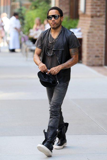 Lenny Kravitz pociesza Vanessę Paradis?
