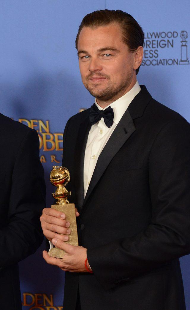 Leonardo DiCaprio skomentowa� swoj� min� na widok ty�u Lady