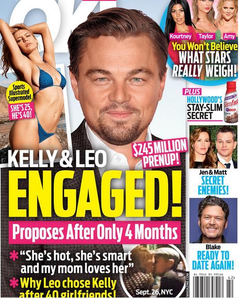 Leonardo DiCaprio oświadczył się Kelly Rohrbach? (FOTO)