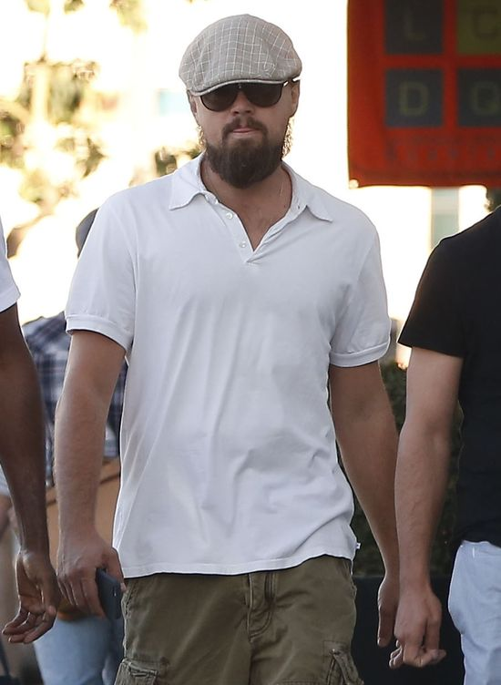 Leonardo DiCaprio - ależ on się zapuścił! (FOTO)