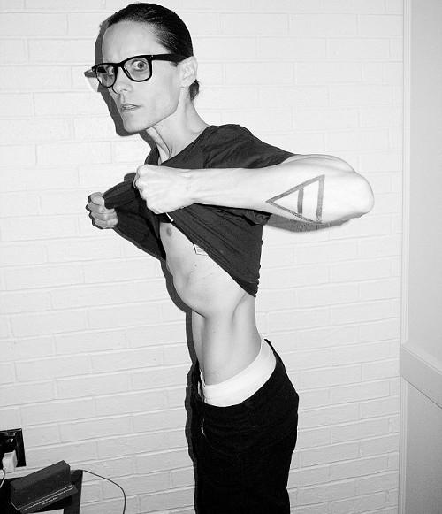 Jared Leto to chodzący szkielet