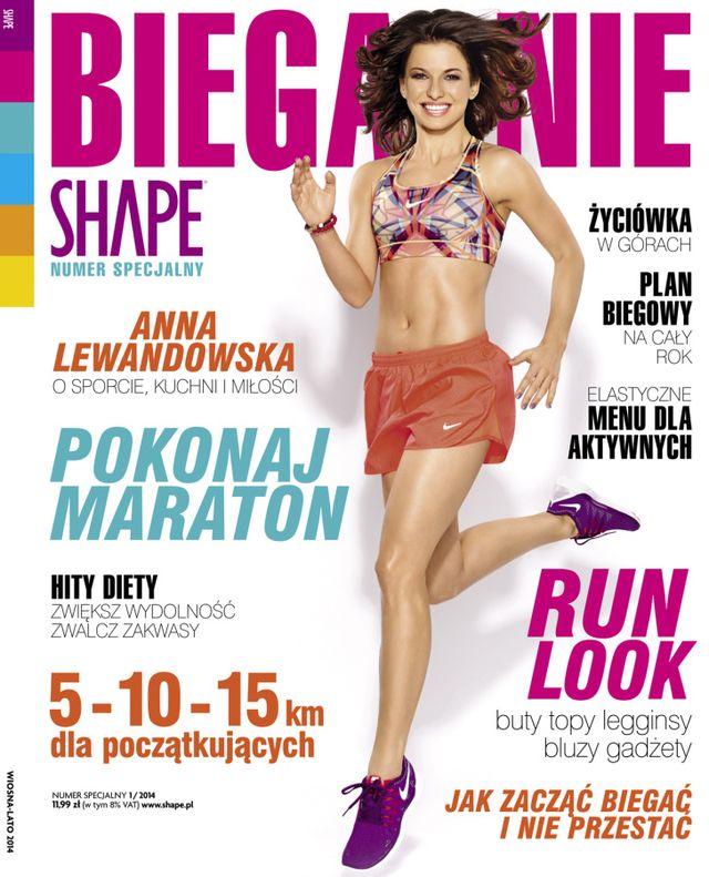 Lewandowska o swej metamorfozie: Jedynie schudłam na twarzy