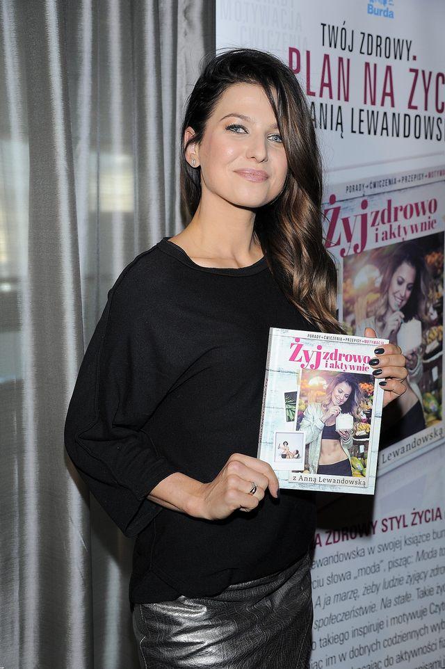 Anna Lewandowska spocona jak mysz i bez makijażu (FOTO)