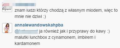 Nie zgadniecie, co Lewandowska nosi ze sob� do kawiarni FOTO