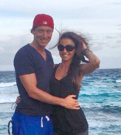Lewandowski z żoną - ich miodowy miesiąc (FOTO)