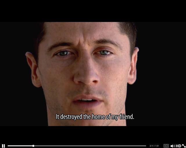 Robert Lewandowski prosi o Wasz głos [VIDEO]