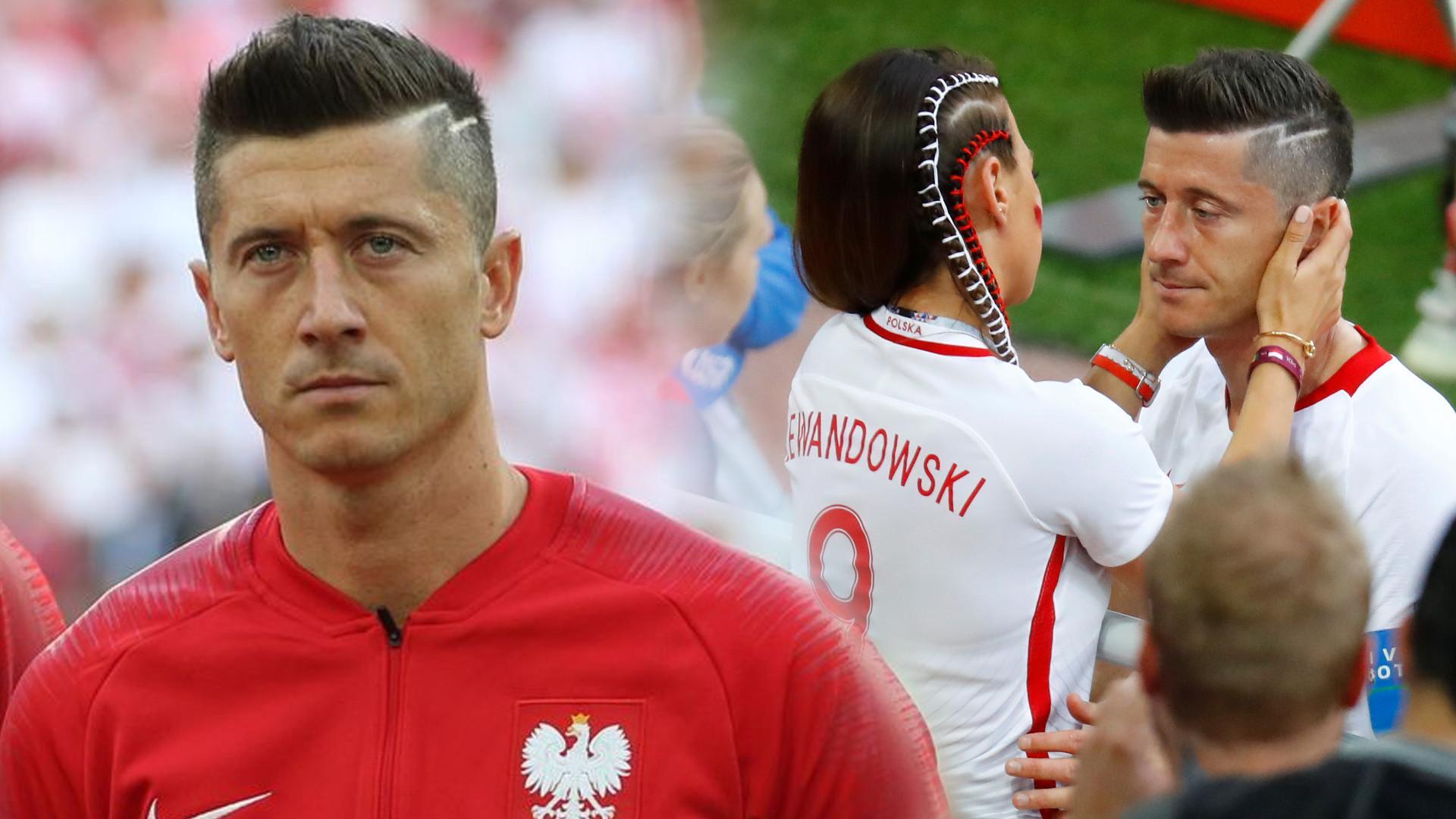 Robert Lewandowski zabiera GŁOS po mundialu. Wspiera go Ania