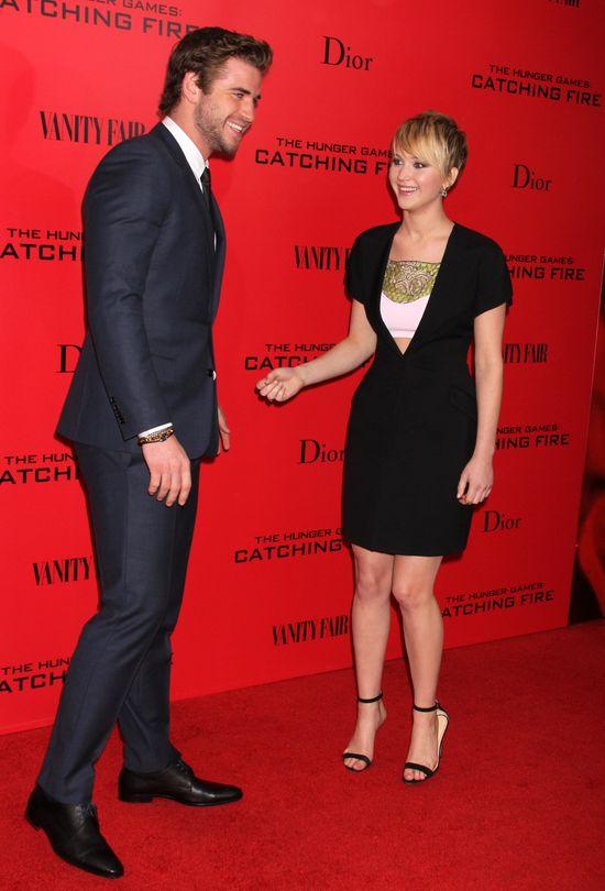 Liam Hemsworth jest zakochany w Jennifer Lawrence?