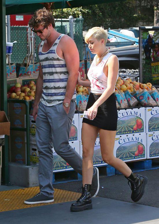 Liam Hemsworth o swoich uczuciach do Miley Cyrus