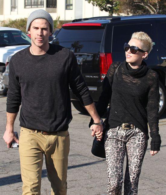 Miley Cyrus spakowała rzeczy Liama i wysłała...