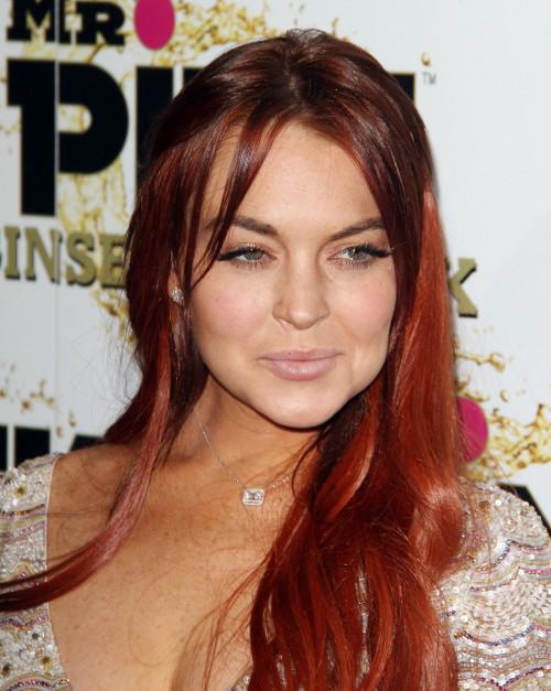 Lindsay Lohan wyprzedaje ubrania